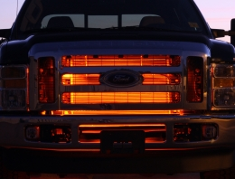 Illuminated custom LED Grilles