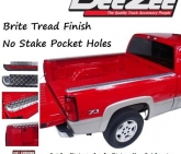 Custom DZ21988 Dee Zee Brite Aluminum Bed Rail Caps Ford Super Duty 6'9