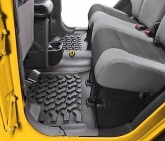 Custom Bestop Floor Liner, Rear