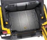 Custom Bestop 51505-01 Jeep Molded Cargo Area Mat Liner Black