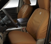 Custom Covercraft SSC3372CABN Carhartt Brown Front Seat Cover 06-09 Dodge Ram 2500-5500