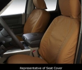 Custom Seat Covers Sewn with Carhartt Fabric SSC2384CABN fits Ford F-150 2007 2008