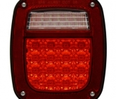 Custom Pilot 96-06 Wrangler TJ-Tail Light Jeep Passenger Side - LED NV-001Q