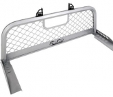 Custom DeeZee DZ 95070R Ultra Mesh Silver Aluminum Front Truck Rack for Colorado/Sierra