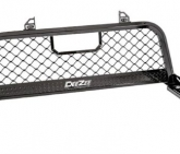 Custom DeeZee DZ 95070RB Ultra Black Aluminum Mesh Front Cab Rack for Silverado/Sierra