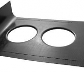 Custom K&N Filters 100-8510 Hood Scoop Pan
