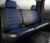 Custom Fia SL62-20BLUE LeatherLite Custom Seat Cover Fits 09-10 F-150