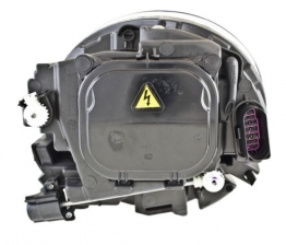 Custom Headlight Assembly HELLA 010793361 fits 12-13 VW Beetle