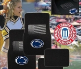 Custom Pilot Bully Officially Licensed Collegiate Floor Mats - Penn State Nittany Lions
