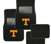 Custom Pilot Automotive Collegiate Floor Mat Tennessee 4 Piece Set FM-903
