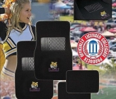 Custom Pilot Bully Officially Licensed Collegiate Floor Mats - LSU Tigers