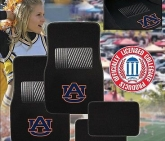 Custom Pilot Bully Officially Licensed Collegiate Floor Mats - Auburn Tigers