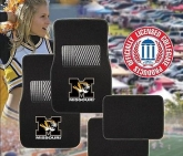 Custom Pilot Bully Officially Licensed Collegiate Floor Mats - Missouri Tigers