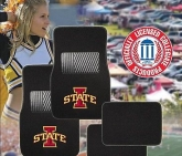 Custom Pilot Bully Officially Licensed Collegiate Floor Mats - Iowa State Cyclones