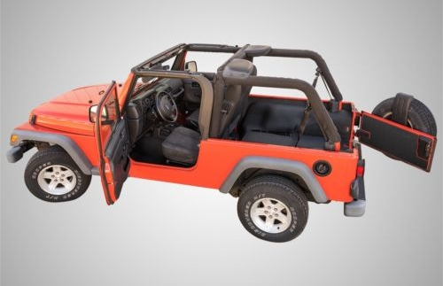 Bedrug BTJK07F2 BedTred Front Cargo Liner Kit for Jeep JK 2-Door by Bedrug