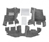 Custom Bed Rug BRTJ97FNC 3 Piece Front Floor Kit for 1997-2006 Jeep Wrangler TJ