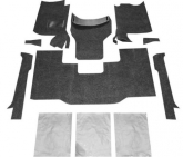 Custom Bed Rug BRCYJ76F 8 Piece Front Floor Kit for 1976-1995 Jeep Wranger CJ7/YJ