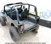 Custom 1976-1980 Wrangler CJ-7 W/Gussets BedRug Complete Floor Liner Mat Protection Kit