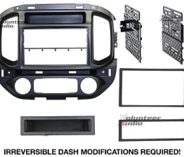 Custom Car Radio Stereo CD Player Dash Install Mounting Trim Bezel Panel Kit Mount